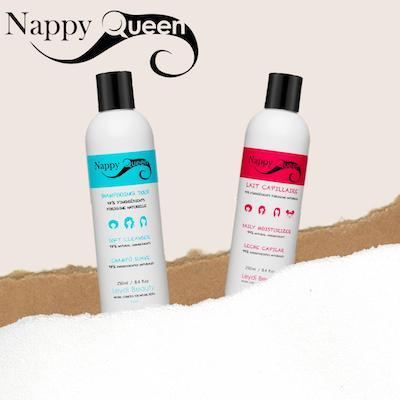 Produits Nappy Queen